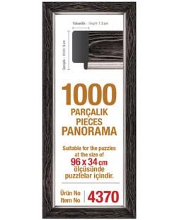 Рамка за панорамен пъзел Art Puzzle  - Черна, за 1000 части