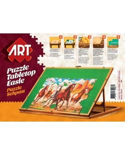 Дървена стойка за подреждане на пъзели Art Puzzle - До 1500 части