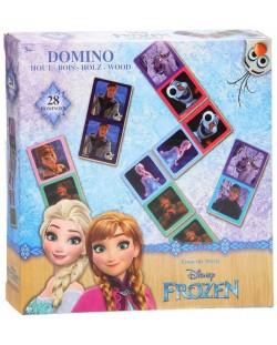 Детска игра Disney Frozen - Картинно домино, 28 части