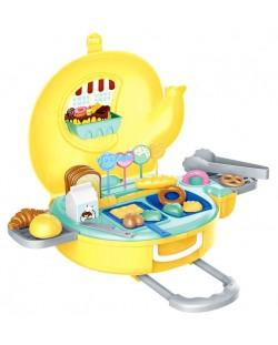 Игрален комплект Bowa - Пекарна Bakery в куфарче-слонче 32 части