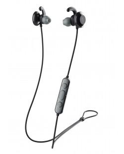 Спортни слушалки Skullcandy - Method Active Wireless, черни/сиви