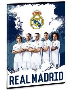 Ученическа тетрадка A4, 40 листа Ars Una Real Madrid