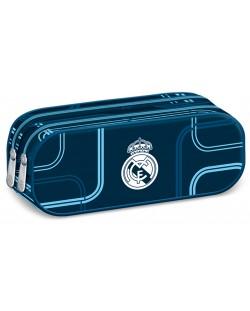 Ученически несесер с 2 ципа Ars Una – Дизайн FC Real Madrid, мек