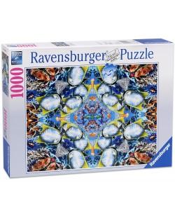 Пъзел Ravensburger от 1000 части - Океански калейдоскоп
