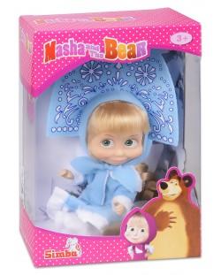 Кукла Simba Toys Маша със синя рокля и диадема, като на Снежанка