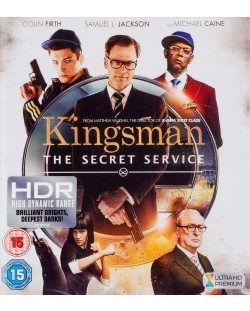 Kingsman: The Secret Service 4K (Blu Ray)