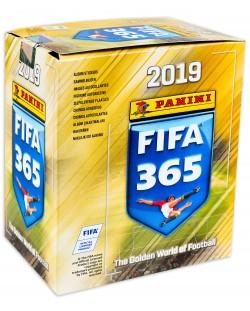 Стикери Panini FIFA 365 2019 - кутия с 50 пакета - 250 бр. стикери