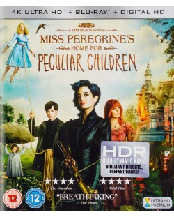 Miss Peregrine's Home For Peculiar Children 4K (Blu Ray)
