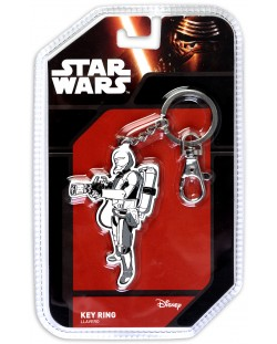 Метален ключодържател Star Wars: Episode VII - Flametrooper