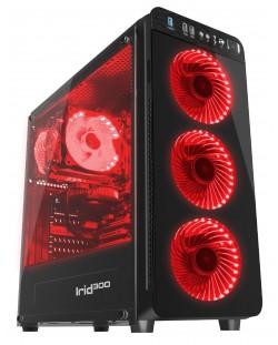 Кутия Genesis ATX - IRID 300 RED