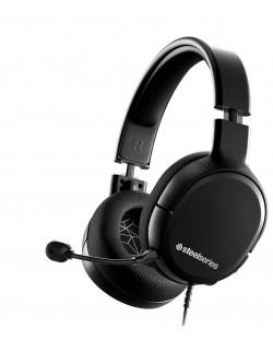 Гейминг слушалки SteelSeries - Arctis 1, черни