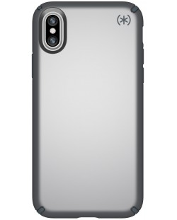 Калъф Speck Presidio Metallic - за iPhone X, сребрист
