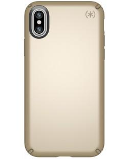 Калъф Speck Presidio Metallic - за iPhone X, златист