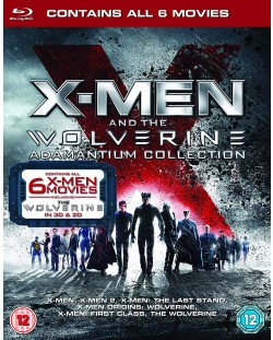 X-Men & Wolverine Adamantium Collection (Blu-ray)