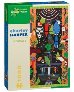 Пъзел Pomegranate от 1000 части - Птицекопия, Чарли Харпър
