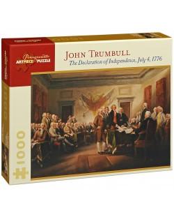Пъзел Pomegranate от 1000 части -  Декларацията за независимост, Джон Трамбъл