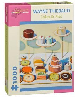 Пъзел Pomegranate от 1000 части - Торти и пайове, Уейн Тибо