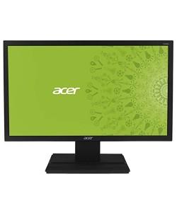 """Acer V206WQLbmd, 19.5"""" IPS LED Anti-Glare,6ms, 100M:1 DCR, 250 cd/m2, 1440x900, DVI, Speakers, Black"""