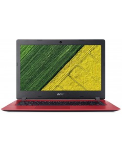 Лаптоп Acer Aspire 1 - A114-31-C6RC, червен