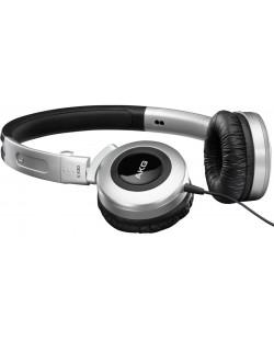 Слушалки AKG K430 - сребърни