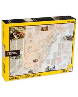 Пъзел New York Puzzle от 1000 части - Американската революция