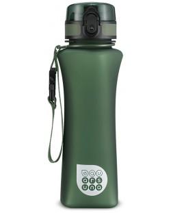 Бутилка за вода Ars Una - Зелен мат, 500 ml