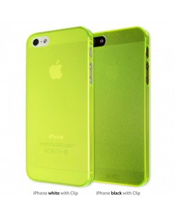 Калъф Artwizz SeeJacket Clip Neon за iPhone 5, Iphone 5s -  жълт