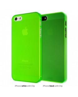 Калъф Artwizz SeeJacket Clip Neon за iPhone 5, Iphone 5s -  зелен