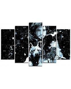 Арт панел - Game of Thrones - Jon Pop Art