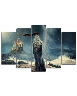 Арт панел - Game of Thrones - Daenerys Targaryen
