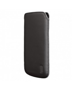 Artwizz Leather Pouch за iPhone 5 -  черен-мат