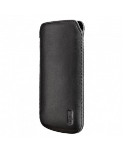 Artwizz Leather Pouch за iPhone 5 -  черен