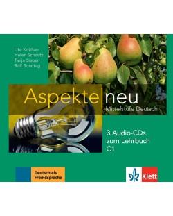 Aspekte Neu C1: 3 Audio-CDs / Немски език - ниво С1: 3 Audio-CDs към учебника