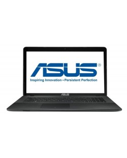 "Лаптоп Asus X751NV-TY001 - 17.3"" HD+, LED Glare"