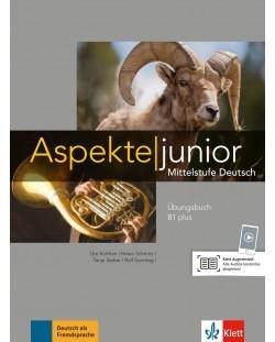 Aspekte junior B1 plus Übungsbuch mit Audio-Dateien zum Download