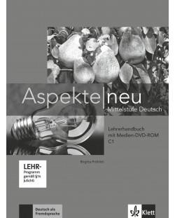Aspekte Neu C1: Lehrerhandbuch + DVD-ROM / Немски език - ниво С1: Книга за учителя + DVD-ROM