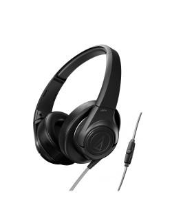 Слушалки Audio-Technica ATH-AX3iSBK - черни