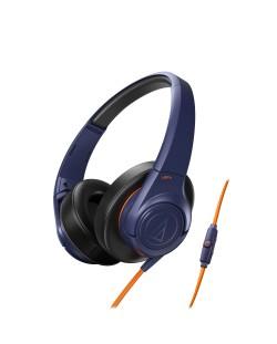 Слушалки Audio-Technica ATH-AX3iSNV - сини