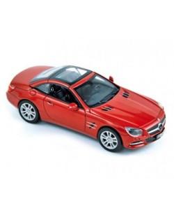 Авто-модел Mercedes 500 SL 2012 metallic red