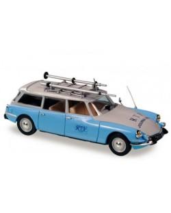 Авто-модел Citroеn ID break RTF bleu clair 1963