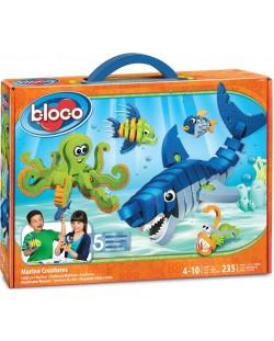 Конструктор Bloco - Морски създания, 235 части