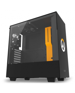 Кутия NZXT - H500 Overwatch Special Edition, Mid-Tower, черна