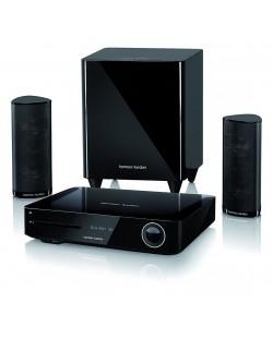Система за домашно кино harman/kardon BDS 385S - 2.1, черна и Blu-Ray система