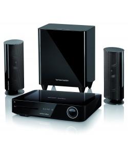 Система за домашно кино harman/kardon BDS 485S - 2.1, черна и Blu-Ray система