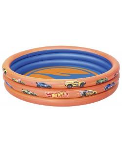 Надуваем басейн Bestway - Hot Wheels