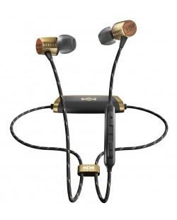Безжични слушалки с микрофон House of Marley - Uplift 2, brass