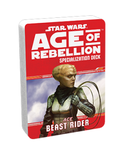 Допълнение за ролева игра Star Wars: Age of Rebellion - Beast Rider Specialization Deck