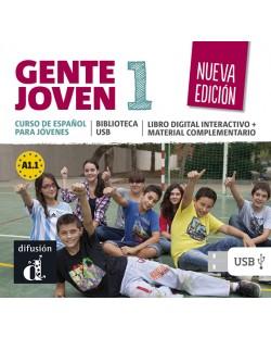 Biblioteca USB de Gente Joven 1 Nueva edicion