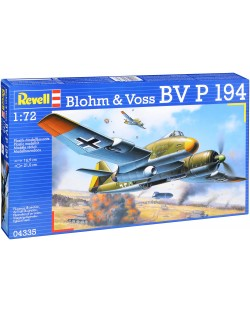Сглобяем модел Revell - Военен самолет Blohm & Voss P. 194 (04335)