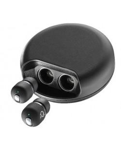 Безжични слушалки Cellularline Vibe - черни
